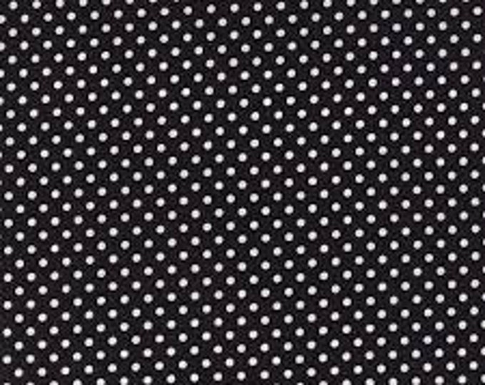 Moda Dottie White on Black 45009-68 - 1/2yd
