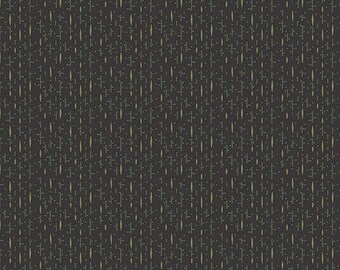 Lampblack - Nubby Stripe Green Gold 8478K1 - 1/2yd