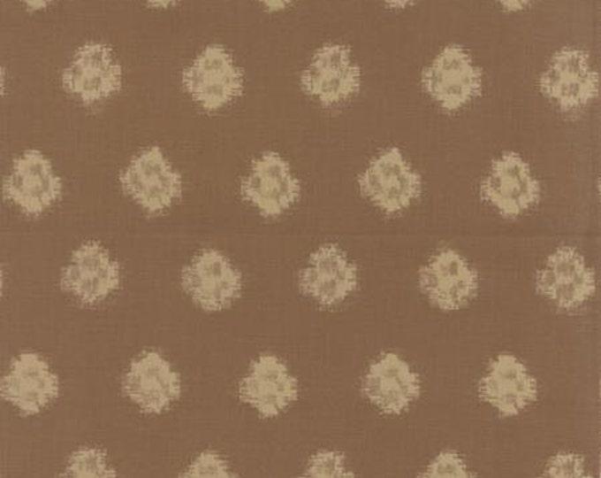 Indigo - Ikat Khaki M3290219 - 1/2yd