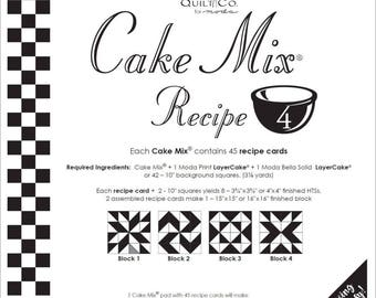 MODA Cake Mix Recipe 4