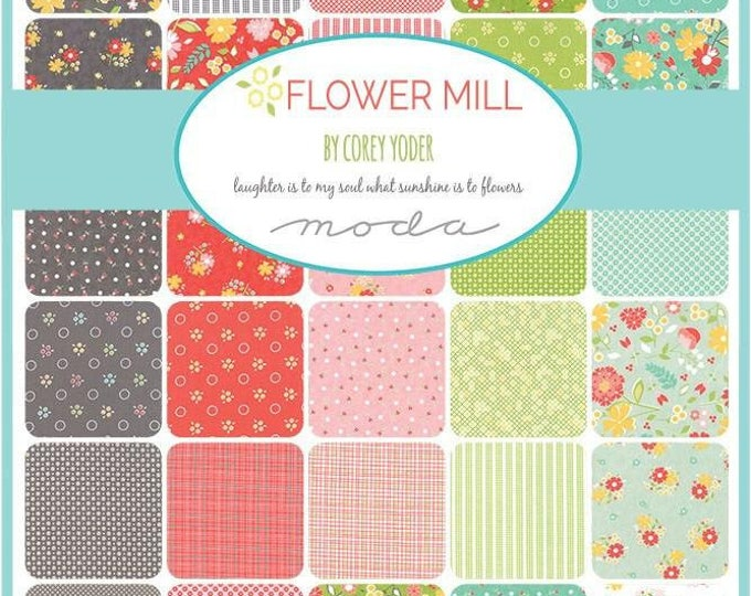 Flower Mill by Corey Yoder - Layer Cake