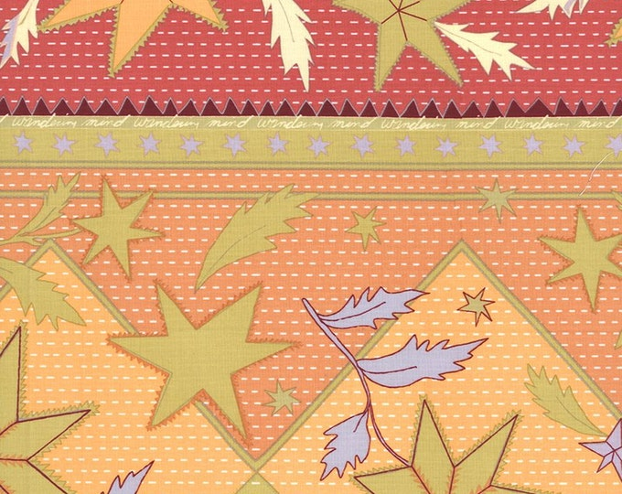 A Wandering Mind - Sultan's Stars - Gold - 1 yd