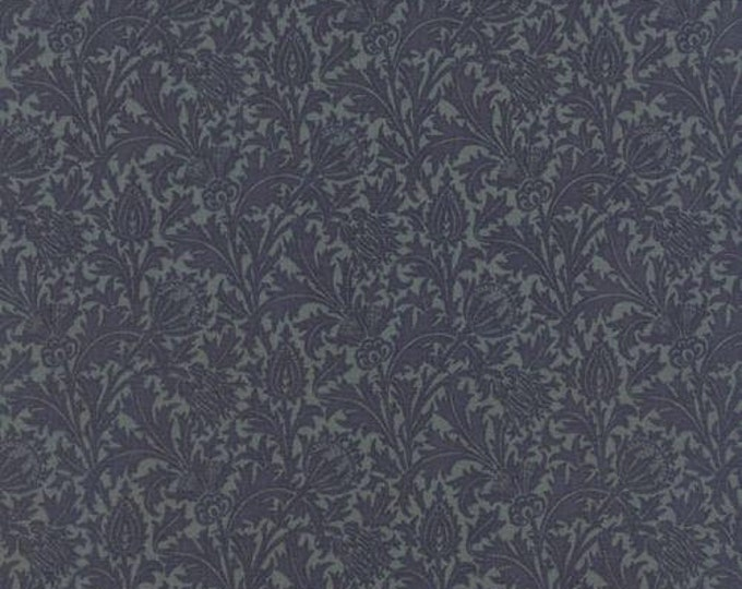 Morris Earthly Paradise Thistle Aquamarine - 1/2yd