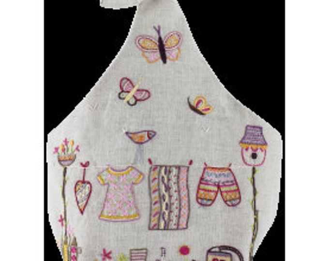 Spring Clothespin Sac - Embroidery Kit - Une Chat dans l'Aiguille