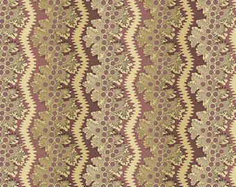Windermere by Di Ford Hall - Lace Plum 8921LP  - 1/2yd