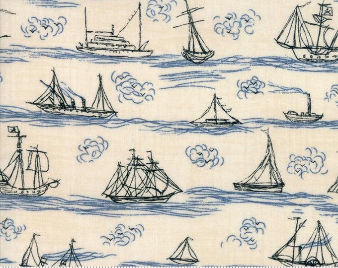 Ahoy Me Hearties 143218 - 1/2yd