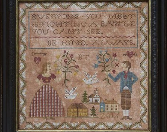 Be Kind Always by Heartstring Sampery - Chart Only