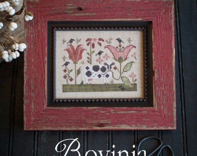 Bovinia - Plum Street Samplers - Cross Stitch Chart