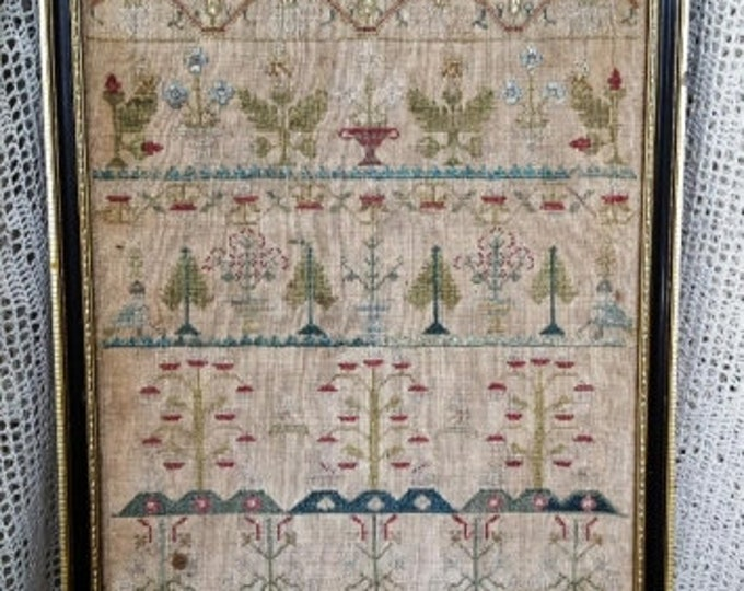 Ann Wright 1726 - Samplers Not Forgotten - Cross Stitch Chart