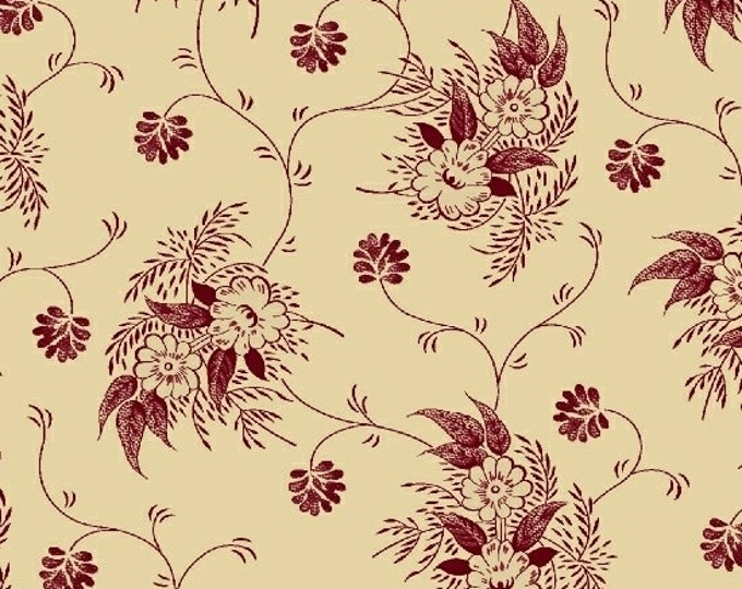Enduring Legacy - Texture Floral Red