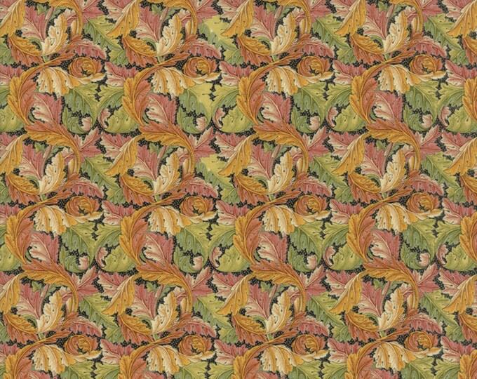 William Morris Acanthus 1875 Ebony 730415 - 1/2yd