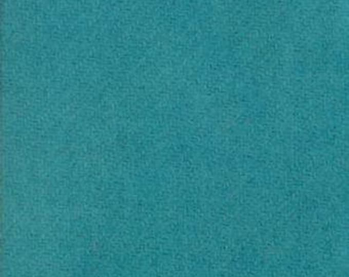Moda 100% Wool Turquoise  5481042 - 1/2 yd x 54 inches