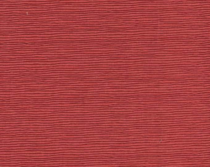 A Wandering Mind - Scribble Stripe - Rust - 1 yd