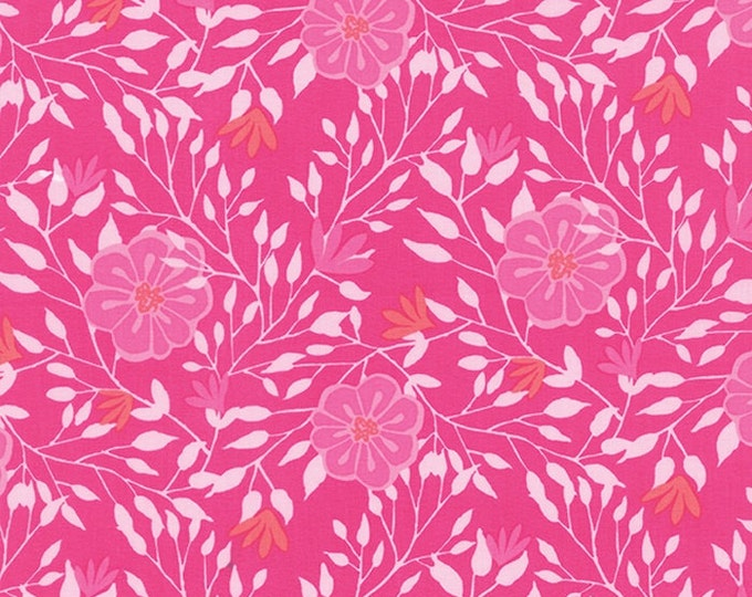 Paradiso by Kate Spain - Camelia Hibiscus Pink - 1 yd