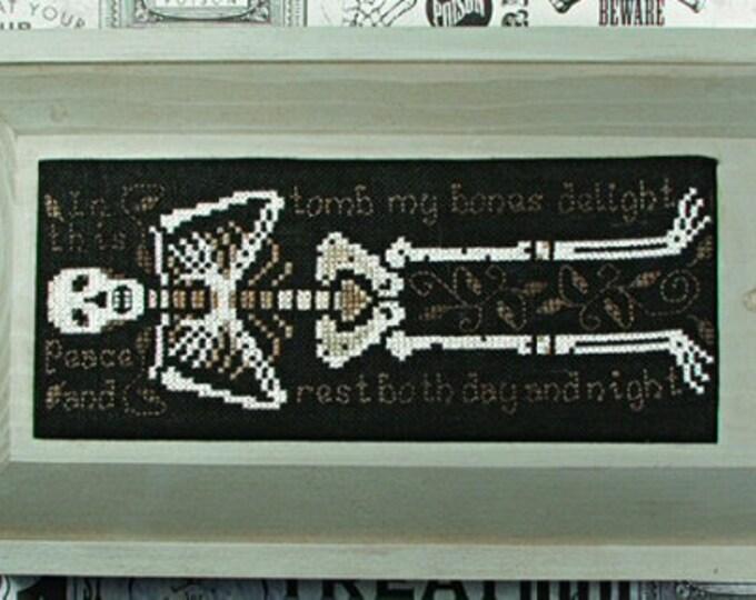 These Old Bones - Lone Elm Lane - Cross stitch chart