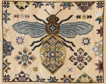 Quilting Bee by The Blue Flower - Chart Only