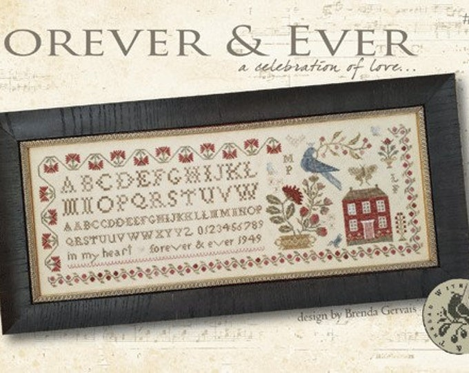 For Ever & Ever...a celebration of love - With Thy Needle and Thread - Cross Stitch Chart
