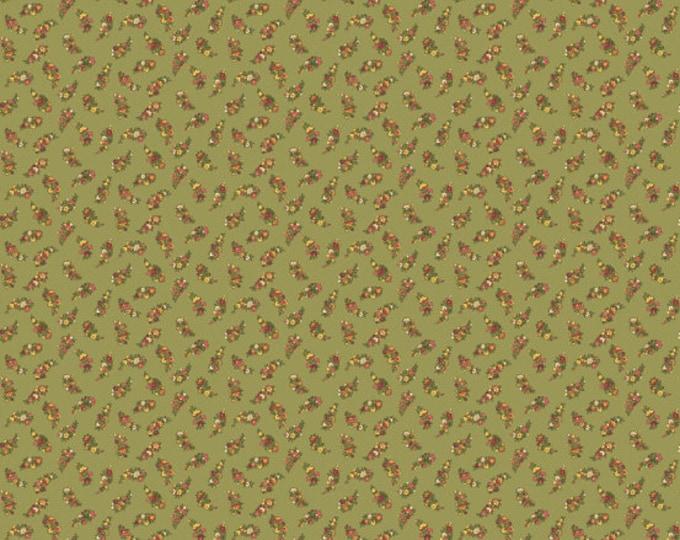 Carlisle - Floral Leaves Green 8471NG - 1/2yd