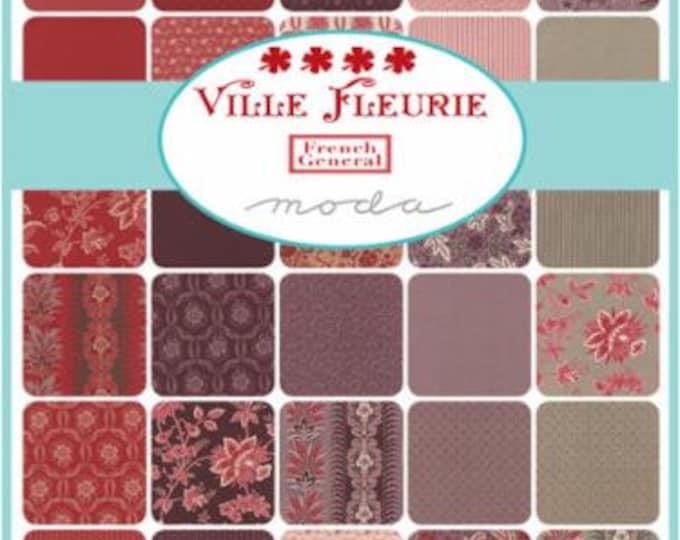 Ville Fleurie - 36 x 1/2yd Bundle