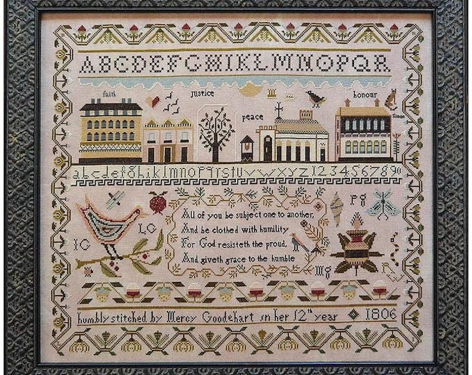 Mercy Goodehart - Shakespeare's Peddler - Cross Stitch Chart