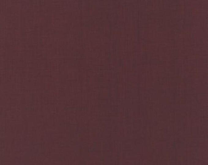 Ville Fleurie Textured Solid Bordeaux - 1/2yd