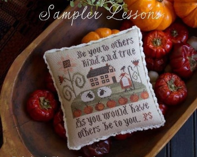 Serial Bowl Collection Lesson Four - Plum Street Samplers - Cross Stitch Chart