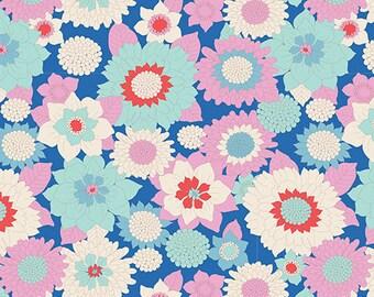 TILDA LEMONTREE - Boogie Flower Blue 100011