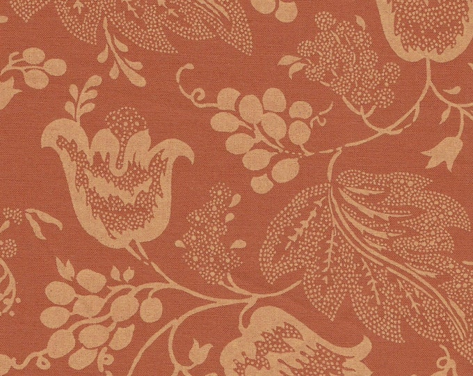 Dutch Chintz - Ton sur Ton Orange FQ
