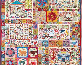 Pandemonium Quilt Pattern by Kim McLean