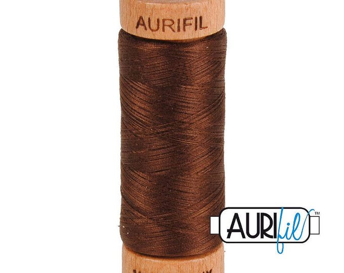 Aurifil 80wt -  Chocolate 2360