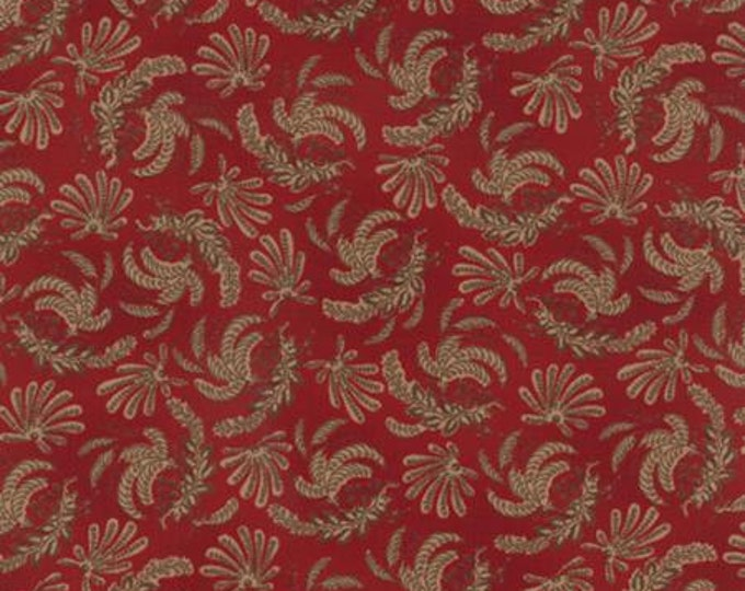 Community Ferns Red 4619718 - 1/2yd
