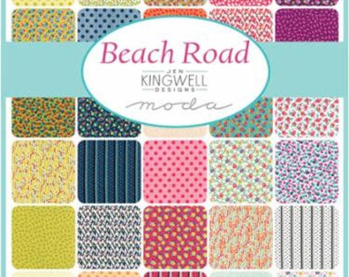 Beach Road by Jen Kingwell - Jelly Roll