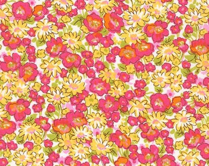 London Calling Lawn 6 - Floral Sorbet - 1/2 yard