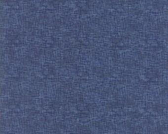 True Blue - Grid Admiral's Blue 162615 - 1/2 yard