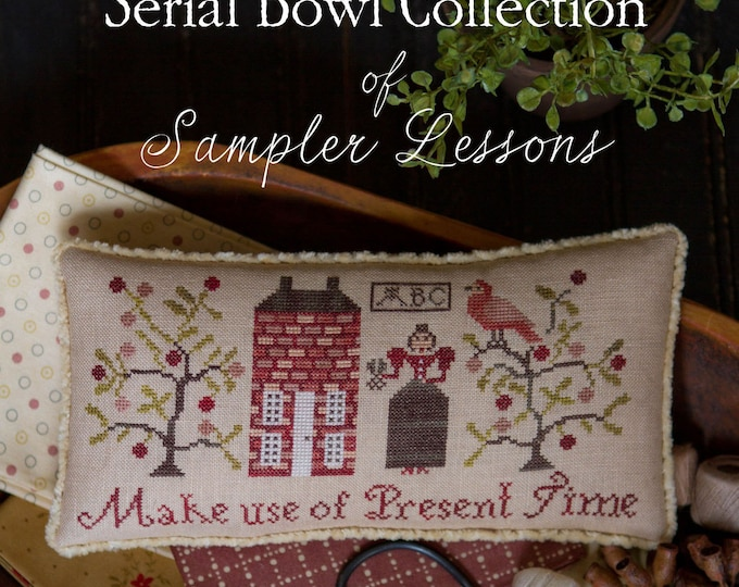 Serial Bowl Collection Lesson One - Plum Street Samplers - Cross Stitch Chart