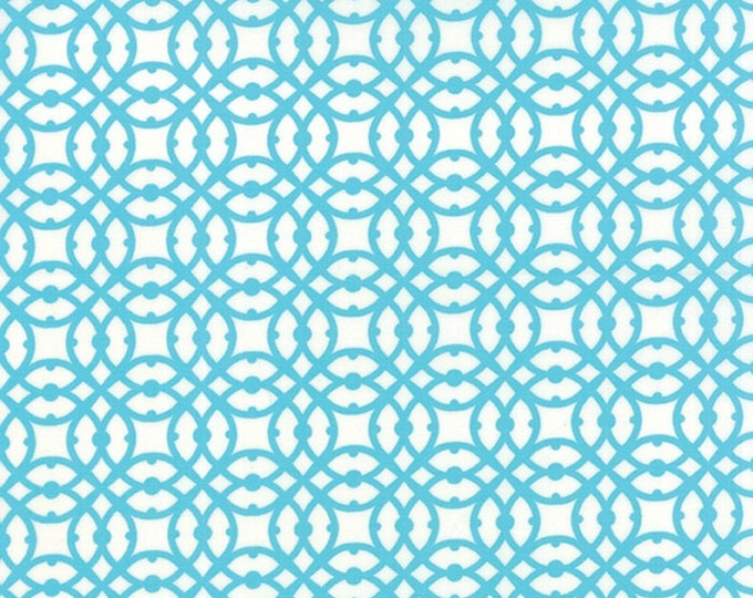 Paradiso by Kate Spain - Destination Pearl Blue - 1 yd