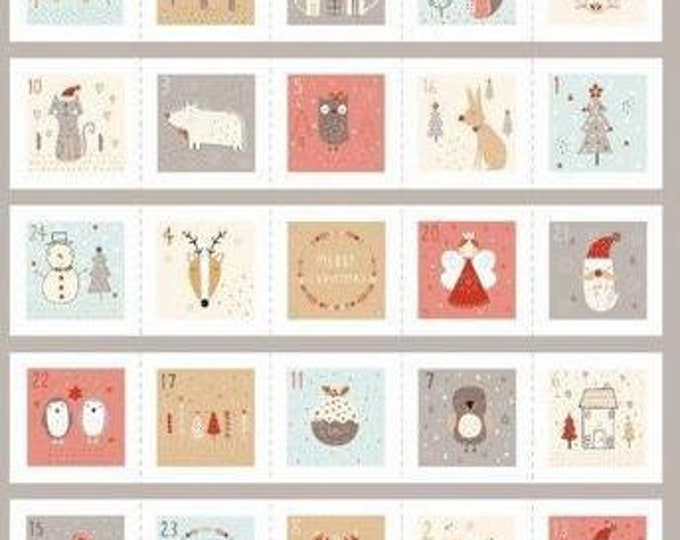 Advent Calendar 1346- Fabric Panel