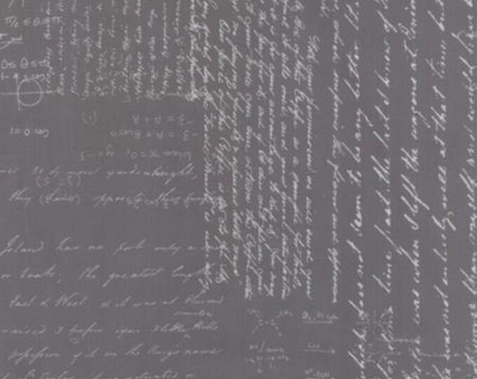 Modern BG Ink Notes Graphite - 1/2yd