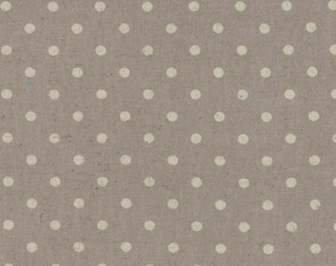 Moda Mochi Linen Dots - Putty - 1/2yd