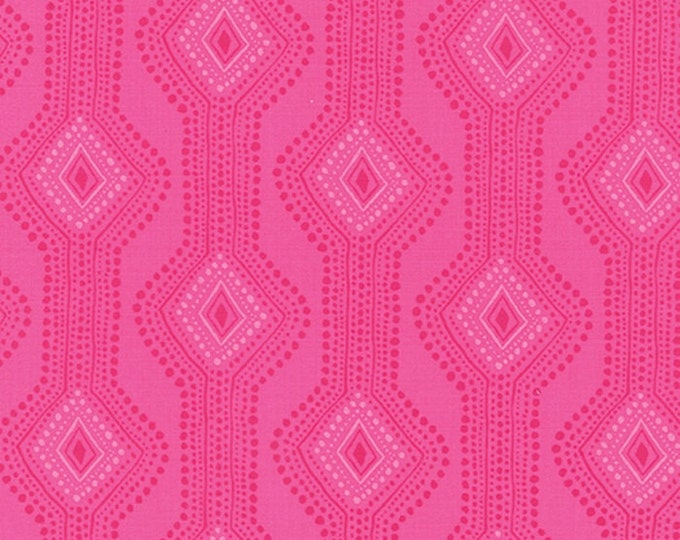 Paradiso by Kate Spain - Utopia Hibiscus Pink - 1 yd