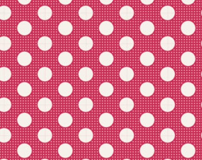 TILDA Medium Dots Red 130027