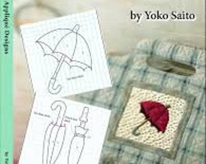 138 Original Applique Designs - Yoko Saito