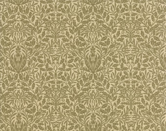 William Morris Acorn 1879 Parchment 730712 - 1/2yd
