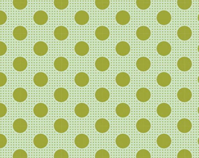 TILDA Medium Dots Green 130011