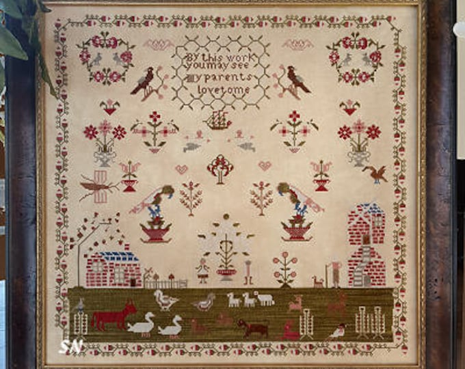 Parents Love - Samplers Not Forgotten - Cross Stitch Chart