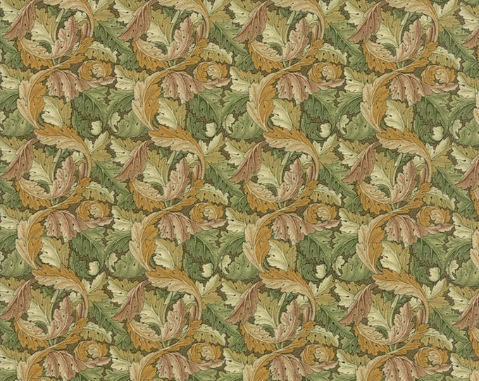 William Morris Acanthus 1875 Sage 730413 - 1/2yd