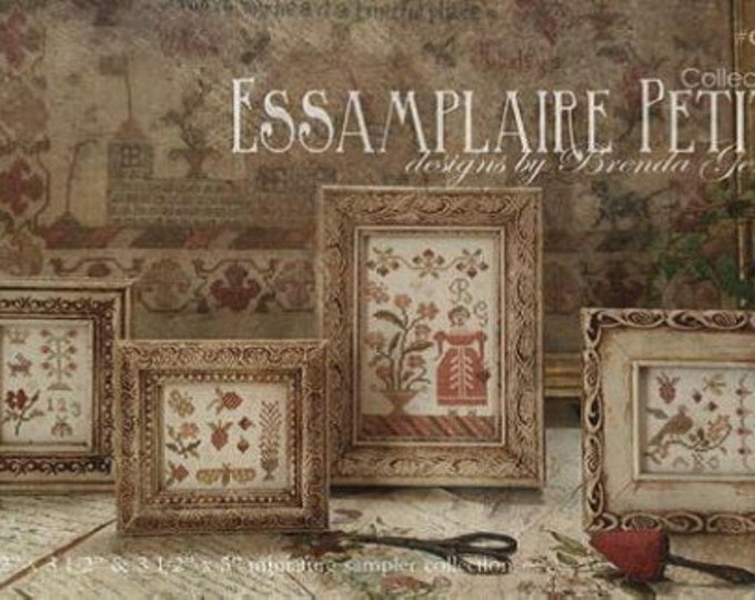Essamplaire Petite Collection I - With Thy Needle And Thread - Cross Stitch Chart