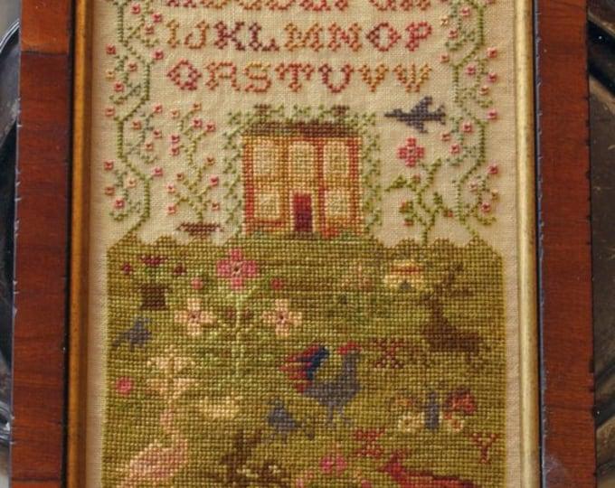 Country Life - Abecedarian Series 7 - Blackbird Designs - Cross stitch chart