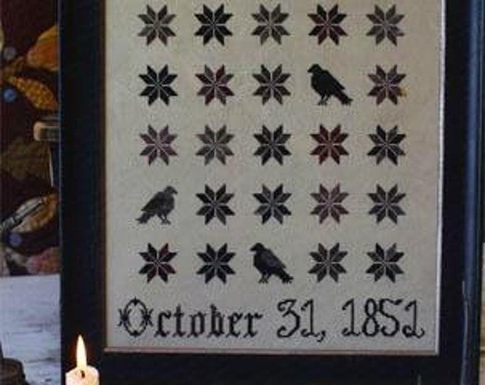 Raven Bewitched - Blackbird Designs - Cross stitch chart