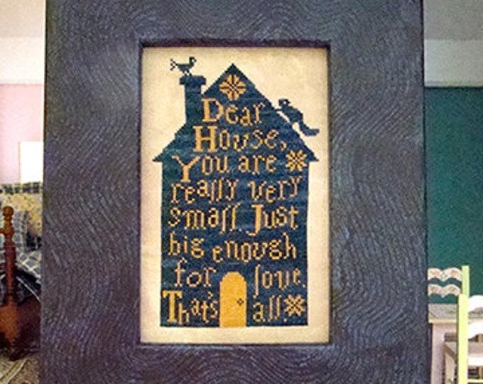 Dear House - Carriage House Samplings - Cross Stitch Chart
